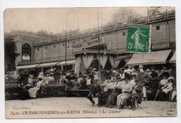 - CPA CHARBONNIÈRES-LES-BAINS (69) - Le Casino (belle Animation) - Edition Faye 3470 - - Charbonniere Les Bains