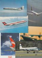 Lot 37 Ansichtskarten Motiv Flugzeug Und Flughafen, In- Und Ausland - 5 - 99 Postcards