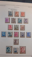 ITALIA REPUBBLICA 1961 SERIE MICHELANGIOLESCA COMPLETA NUOVA - 1961-70: Mint/hinged