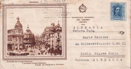 ESPAGNE CARTE DE MADRID - Briefe U. Dokumente
