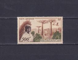 MADAGASCAR 1952, Mi# 421, CV €35, Trees, MNH - Neufs