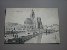 AUDENARDE - EGLISE PAMELE - L'ESCAUT, PENICHES - Oudenaarde
