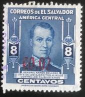 El Salvador - L1/10 - (°)used - 1952 - Michel 622 - Ramon Belloso Met Opdruk - El Salvador