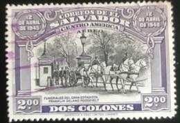 El Salvador - L1/10 - (°)used - 1948 - Michel 649 - Overlijden Franklin D. Roosevelt - El Salvador