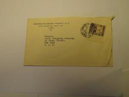 Peru Airmail Cover Lima To USA - Peru