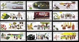 (082-93) Myanmar / Burma / Birmanie  Festivals / Culture / 12 Values / 2019  ** / Mnh  Michel  466-477 - Burma (...-1947)