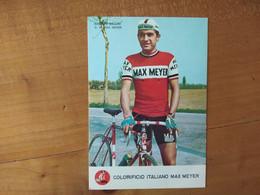 Cyclisme - Carte Publicitaire MAX MEYER : BALLINI - Cycling