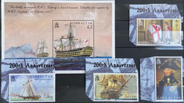 Gibraltar MNH 2005 - Ships . Battle Of Trafalgar I - Gibraltar