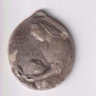Médaille Pour Nos Blessés - Aux Infirmières De France - Le Devoir - 1914-1915 - Professionals / Firms