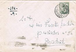 39588. Carta PLASENCIA (Caceres) 1945 A Madrid - 1931-50 Briefe U. Dokumente