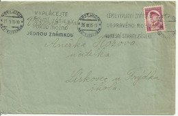 Cover From Novy Jicin (Neu Titschein) 1935 With Special Cancellation. - Storia Postale