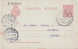 ESPAGNE 1906 ENTIER POSTAL/GANZSACHE/POSTAL STATIONARY CARTE DE CADIZ - 1850-1931