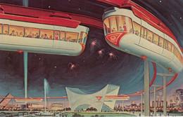 NEW YORK CITY World's Fair , 1964-65 ; AMF Monorail Train - Trains