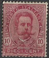 Italy 1896, 10 C. Umberto I. Michel 67/Scott 68. MH - Ungebraucht
