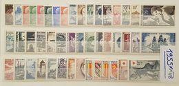 Année Complète 1955 Neuf ** TTB à 14% De La Cote. - 1950-1959