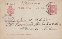 ESPAGNE 1906 ENTIER POSTAL/GANZSACHE/POSTAL STATIONARY CARTE - 1850-1931