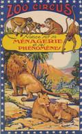 Spectacle Zoo Circus.16 Pages - Notice Explicative Sur Les Animaux Du Parc. Format : 10.5 X 17. Bon état. - Programs