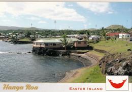 4 AK Easter Island Osterinsel Rapa Nui * 4 Ansichten Der Osterinsel Dabei Auch Hanga Roa - Zu Chile * - Rapa Nui