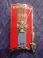 Insigne 228° Promotion ENSOA Victoire 1945 Alsace - Hueste