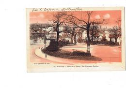 Cpa - 71 - MACON - Place De La Barre - Les Nouveaux Jardins - N°27 Combier - - Macon