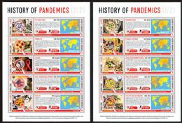 Sierra Leone 2020 Pandemic HistoryAnti-Coronavirus COVID-19 2S/S MNH - Krankheiten