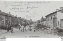 55 - RAMBUCOURT - LOT DE 2 CARTES- GRANDE RUE -ENTREE PAR BEAUMONT - EDIT POTIER - Other Municipalities