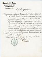 ITALIA 1866 MUNICIPIO DI JESI PROVINCIA DI ANCONA - Poststempel