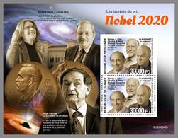 GUINEA REP. 2020 MNH Nobel Prize 2020 Nobelpreisträger 2020 Prix Nobel 2020 S/S - OFFICIAL ISSUE - DHQ2110 - Nobel Prize Laureates