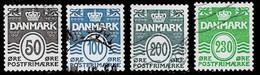 Dänemark ,Michel# O Wavy Lines - Usado