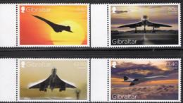 Concorde 2019 Gibraltar 1905/8 ** 27€ Überschall-Flugzeug UK/France Ss Airplane Avion Military Set Of Great Britain - Concorde