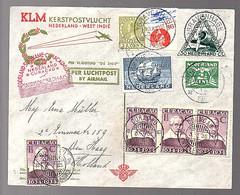 Return Flight 1934 Kerstpostvlucht > Curacao (FE-51) - Curazao, Antillas Holandesas, Aruba