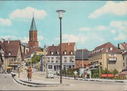 D-66540 Wiebelskirchen - Marktplatz - Haltestelle - Straßenansicht - Cars - VW 1500 - Kreis Neunkirchen