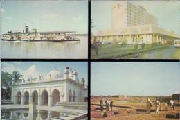 CPA DHAKA- SHIP, HOTEL, MOSQUE, MAINAMOTI BUDDHIST CIVILISATION COMILLA, BUSS, CAR - Bangladesh