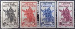 R2452/258 - 1939 - COLONIES FR. - INDOCHINE - SERIE COMPLETE - N°205 à 208 NEUFS* - Ungebraucht