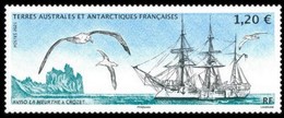 French Antarctic Territories 2021, Battle Ship In Crozet, MNH Single Stamp - Neufs