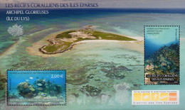 French Antarctic Territories 2021, Corals Of Éparses Island, MNH S/S - Neufs