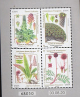French Antarctic Territories 2021, Plants, MNH S/S - Neufs