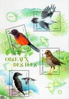 France 2021, Birds, MNH S/S - Neufs