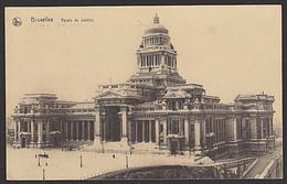 Belgien Brussel Bruxelles Palais De Justice  Ak 1929 Mit MWSt. - Cartas