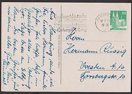 Hamburg MWSt. Nordwestdeutsche Früher Hamburger Klassenlotterie 1. Ziehung 10. Und 11. August 1948 - Marcofilia - EMA ( Maquina De Huellas A Franquear)