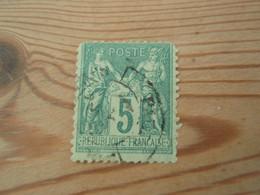 Timbre  Sage 5 C à Identifier 64 Ou 75 - 1876-1898 Sage (Type II)