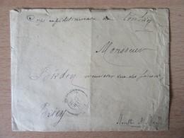 Corps Expéditionnaire Du Tonkin - Enveloppe 1886 - Cachets Corr. D'Armées Haï-Phong, SON-TAY, HA-NOÏ, Ambulants - Lettres & Documents