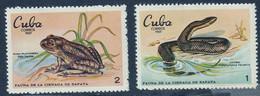 CUBA - Faune, Perroquet, Crocodile, Grenouille, Serpent, Requin - MNH - 1969 - Unused Stamps