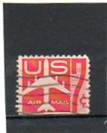 ETATS-UNIS       7 C De Carnet     1960   Pas Sur Y&T   Scott: C60a  Poste Aérienne  Bas Non Dentelé     Oblitéré - 2a. 1941-1960 Gebraucht