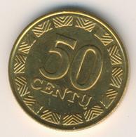 LIETUVA 1997: 50 Centu, KM 108 - Lithuania