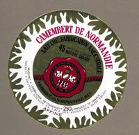 ETIQUETTE De FROMAGE.. CAMEMBERT De NORMANDIE (Orne 61-I).. Société Affinage GOUSSIN SA - Formaggio