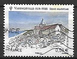 FRANCE    -    2011 .  Y&T N° 4562 Oblitéré.   Varengeville-sur-Mer.  Cimetière. - Oblitérés