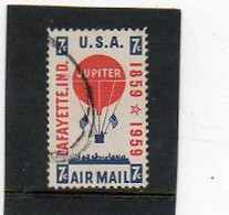 ETATS-UNIS   7 C   1959    Y&T : 53   Poste Aérienne   Oblitéré - 2a. 1941-1960 Gebraucht