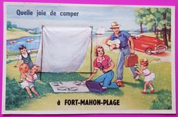 Carte à Système Fort Mahon Plage Carte Postale 80 Somme - Fort Mahon