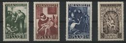 SARRE / SARR N° 264 à 267 Cote 111 € Neuf ** (MNH) .TB - Unused Stamps